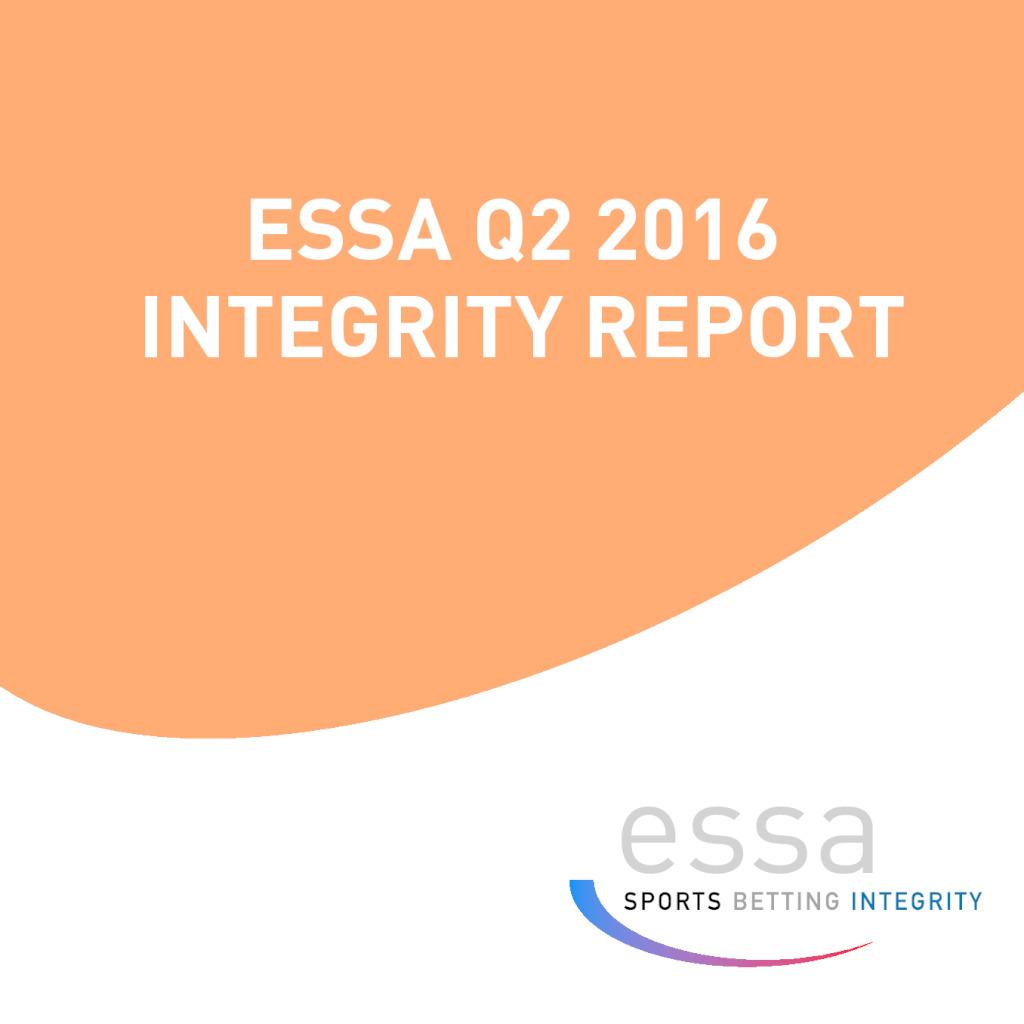 ESSA Q2 2016 INTEGRITY REPORT