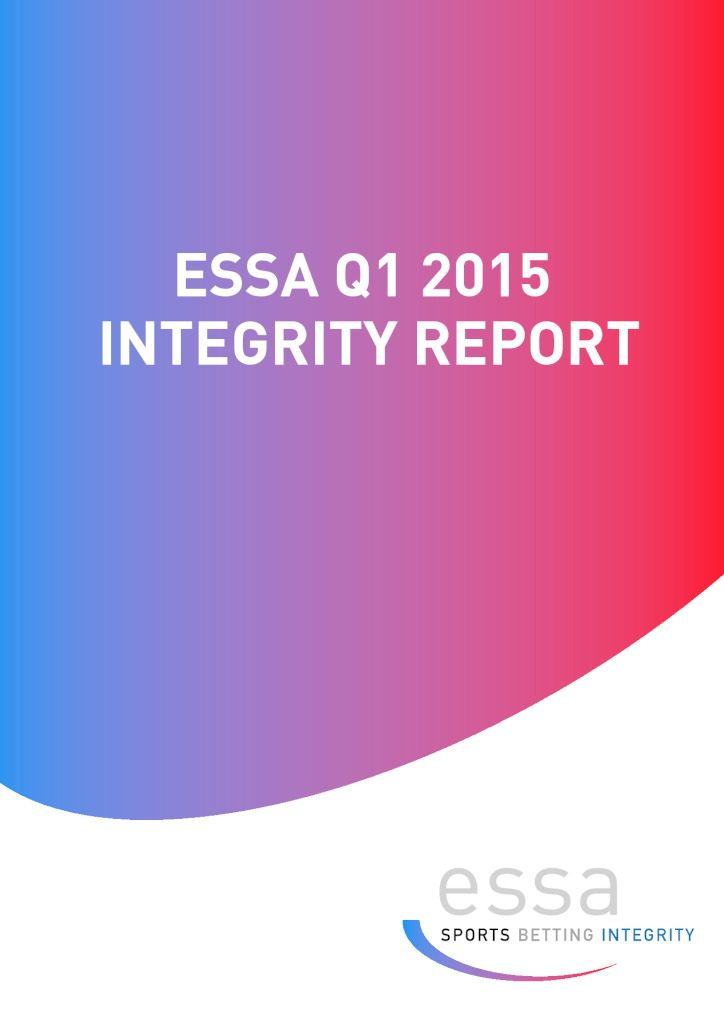 ESSA releases its first Q1 2015 Integrity Report – 29/04/2015