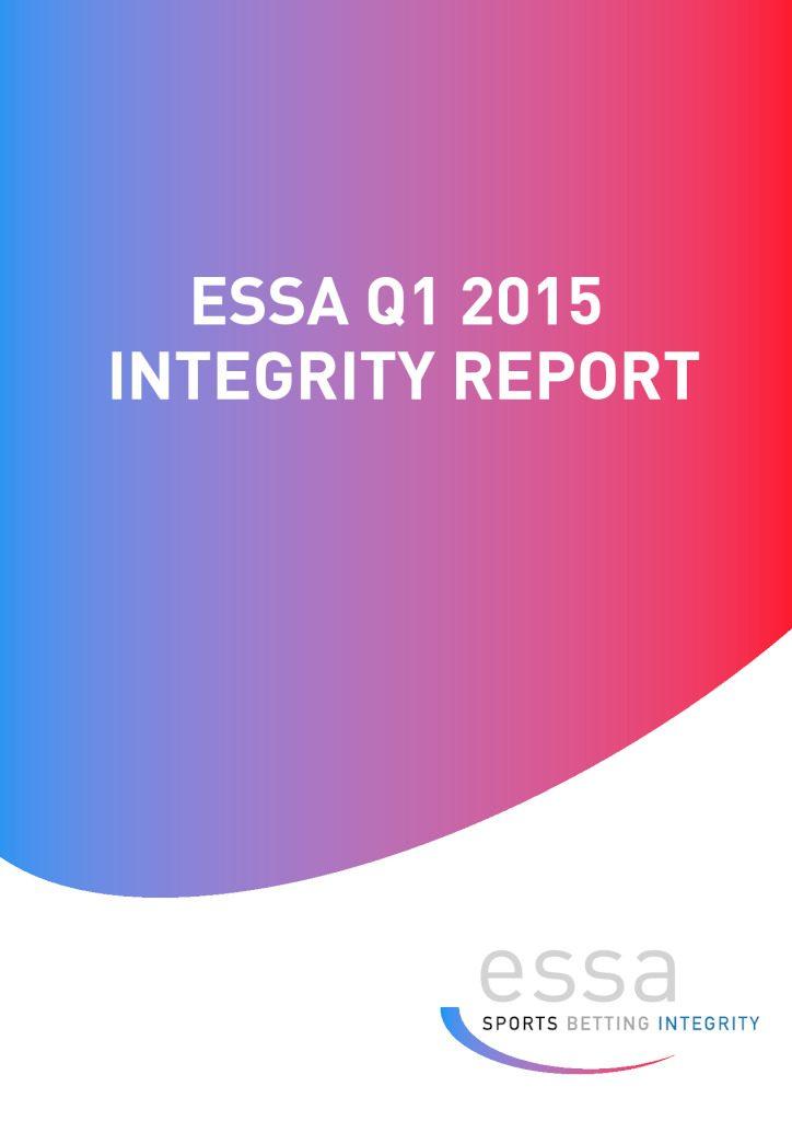 ESSA Q1 2015 INTEGRITY REPORT