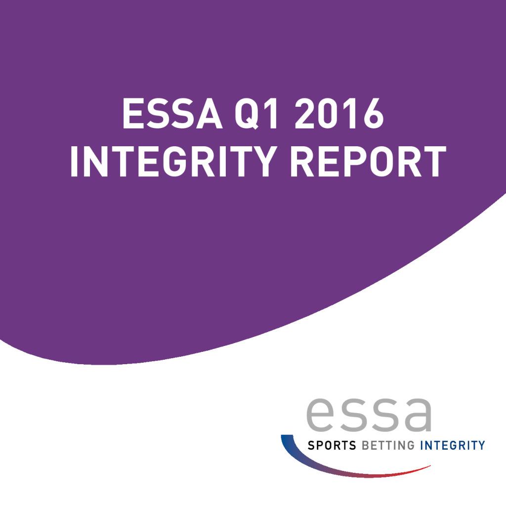 ESSA Q1 2016 INTEGRITY REPORT