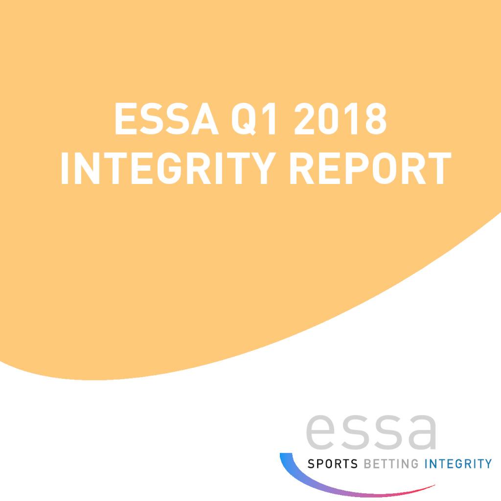 ESSA Q1 2018 INTEGRITY REPORT