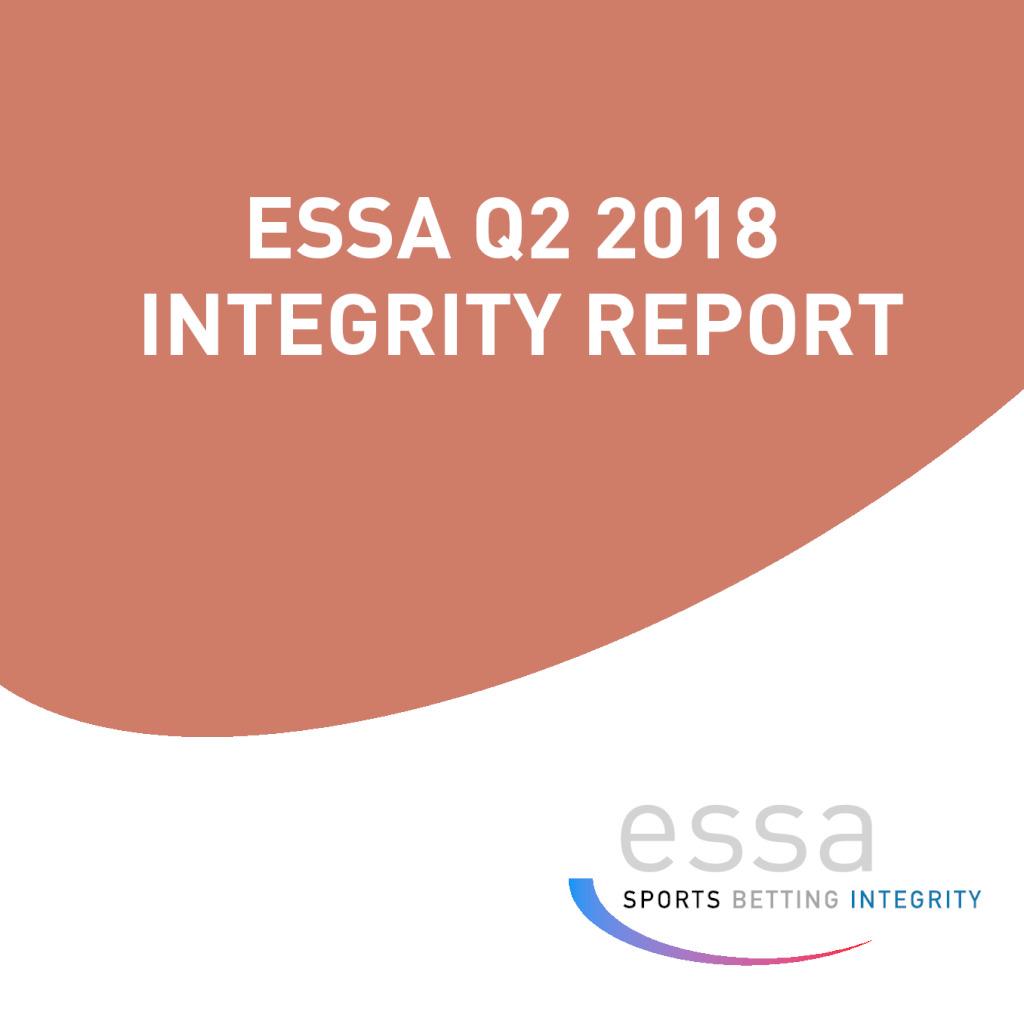 ESSA Q2 2018 INTEGRITY REPORT