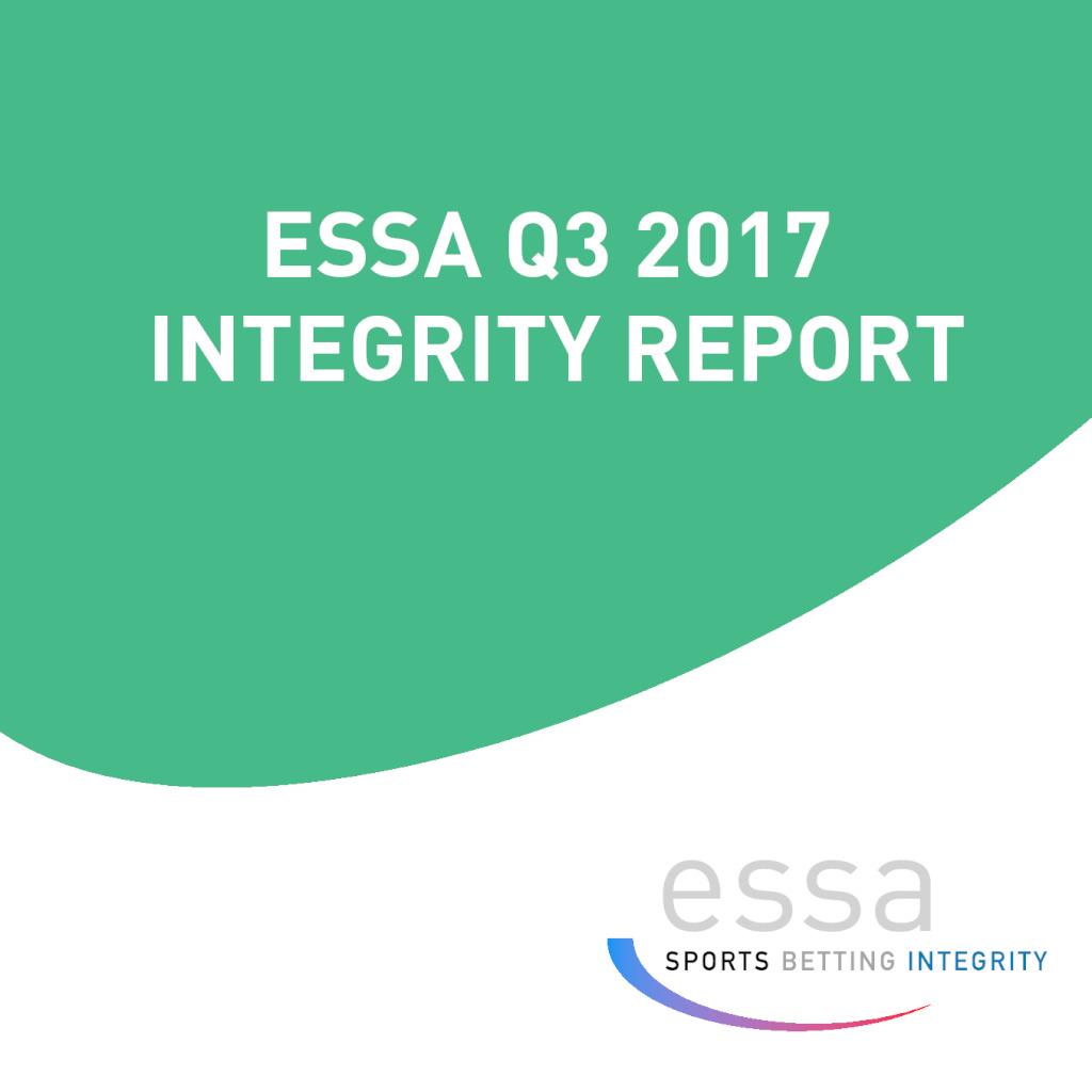 ESSA Q3 2017 INTEGRITY REPORT