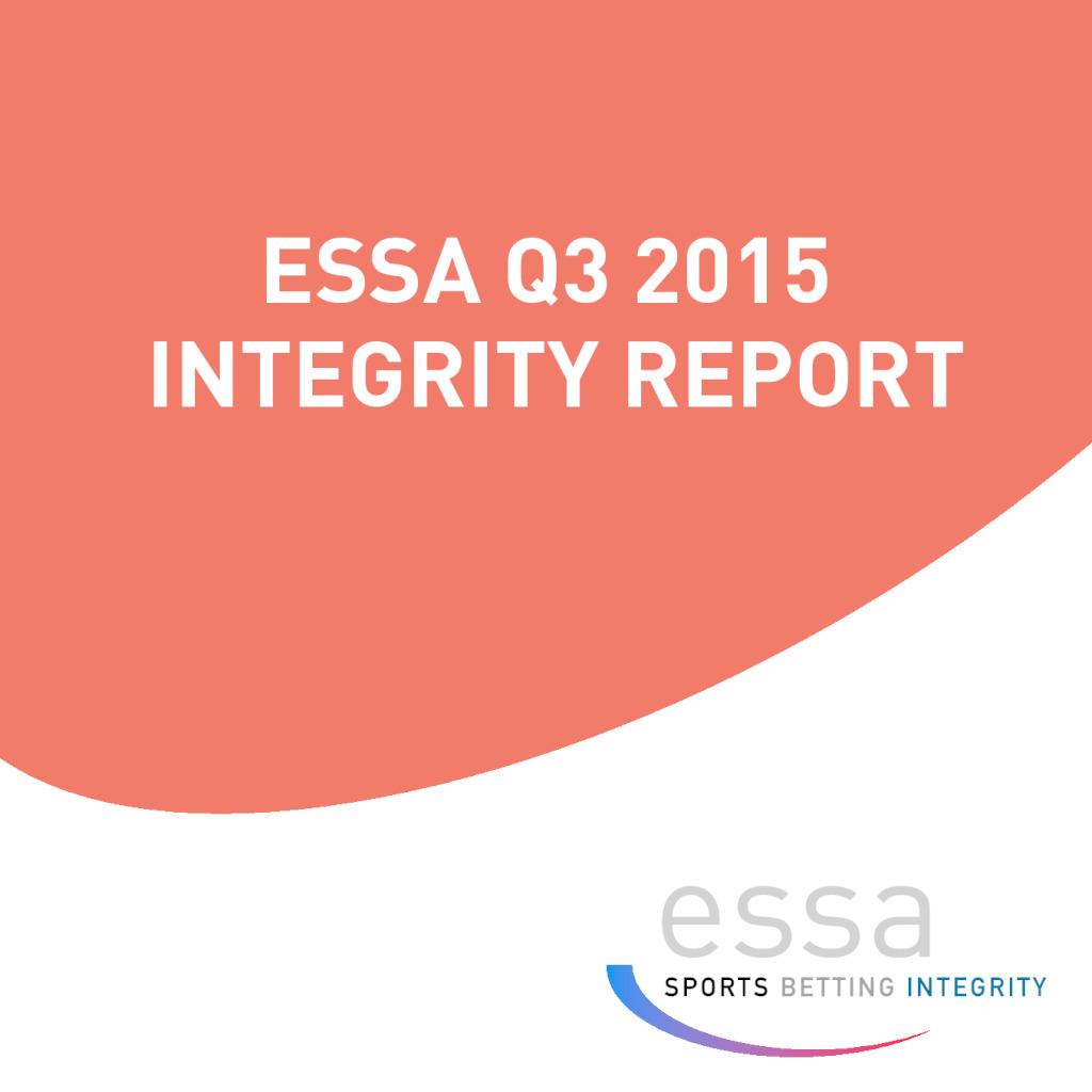 ESSA Q3 2015 INTEGRITY REPORT