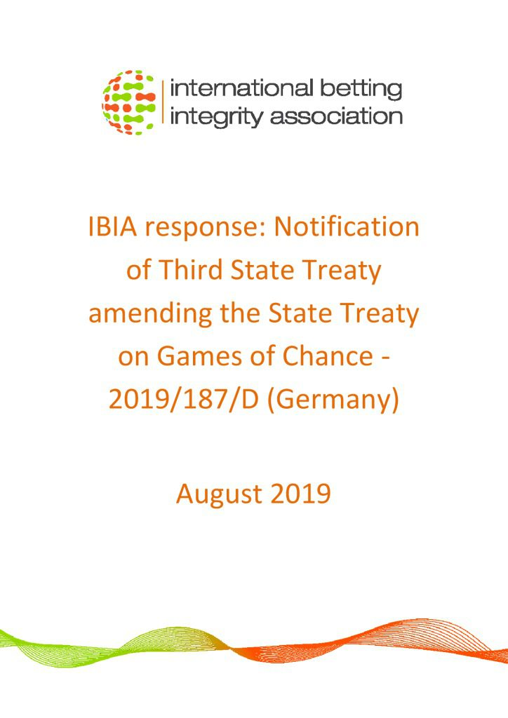 IBIA response – German Third State Treaty August 2019 FINAL