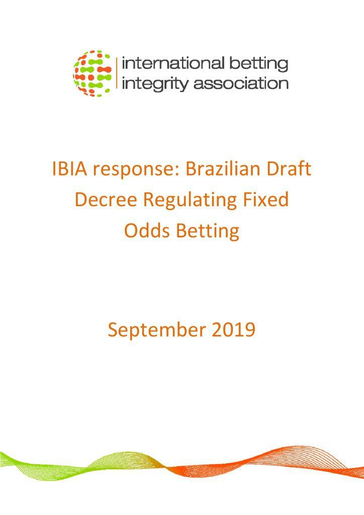 IBIA response – Brazilian Decree September 2019 FINAL English version