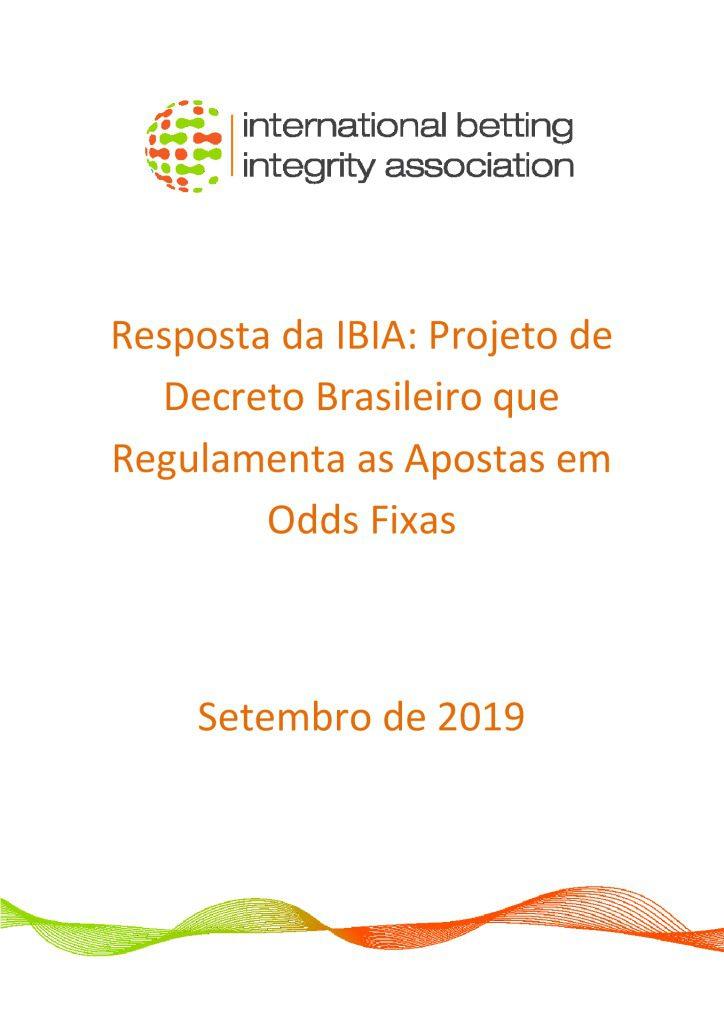 IBIA response – Brazilian Decree September 2019 FINAL Portuguese version