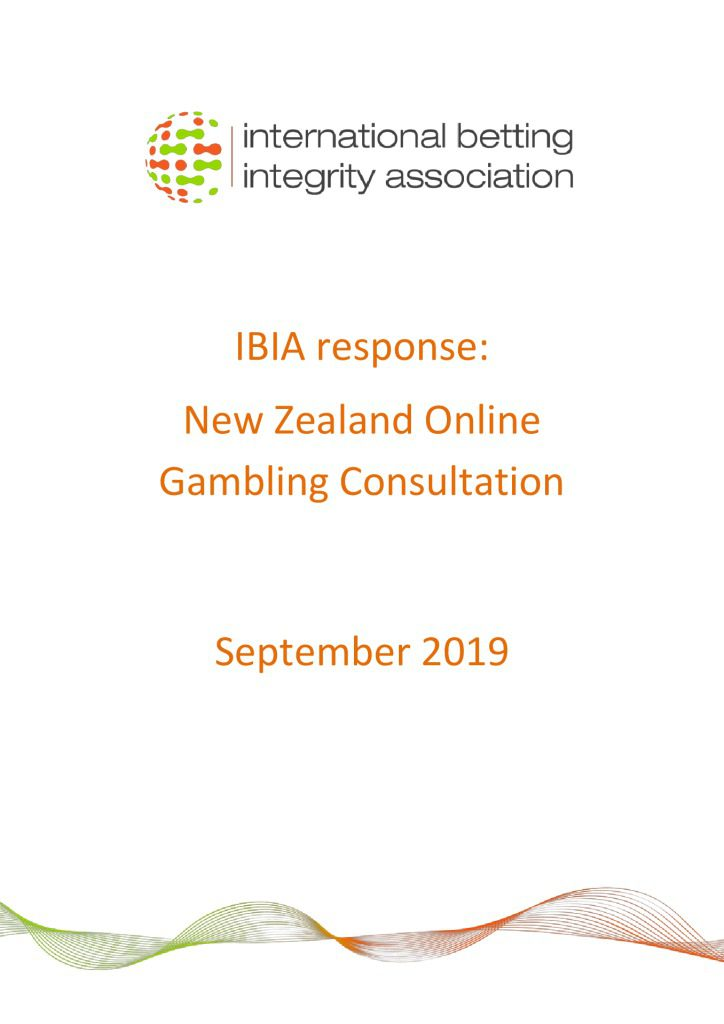 IBIA response – New Zealand Online Gambling Consultation FINAL