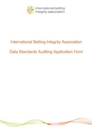 IBIA Data Standards Application form - Final 2020